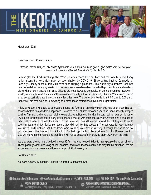 thumbnail of Kounaro Keo Mar-Apr 2021 Prayer Letter