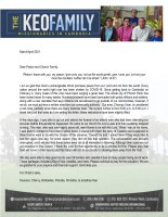 Kounaro and Chorvy Keo Prayer Letter:  Peace Comes From God, Not From the World
