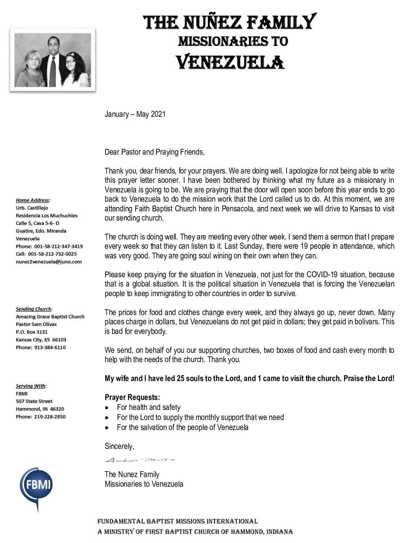 thumbnail of Andres Nunez Jan-May 2021 Prayer Letter