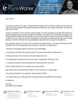 John Hays Prayer Letter: Update on Ministering to Liberia