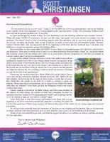 Scott Christiansen Prayer Letter: Learning to Plod