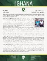 Team Ghana National Pastor Spotlight: A Happy Month