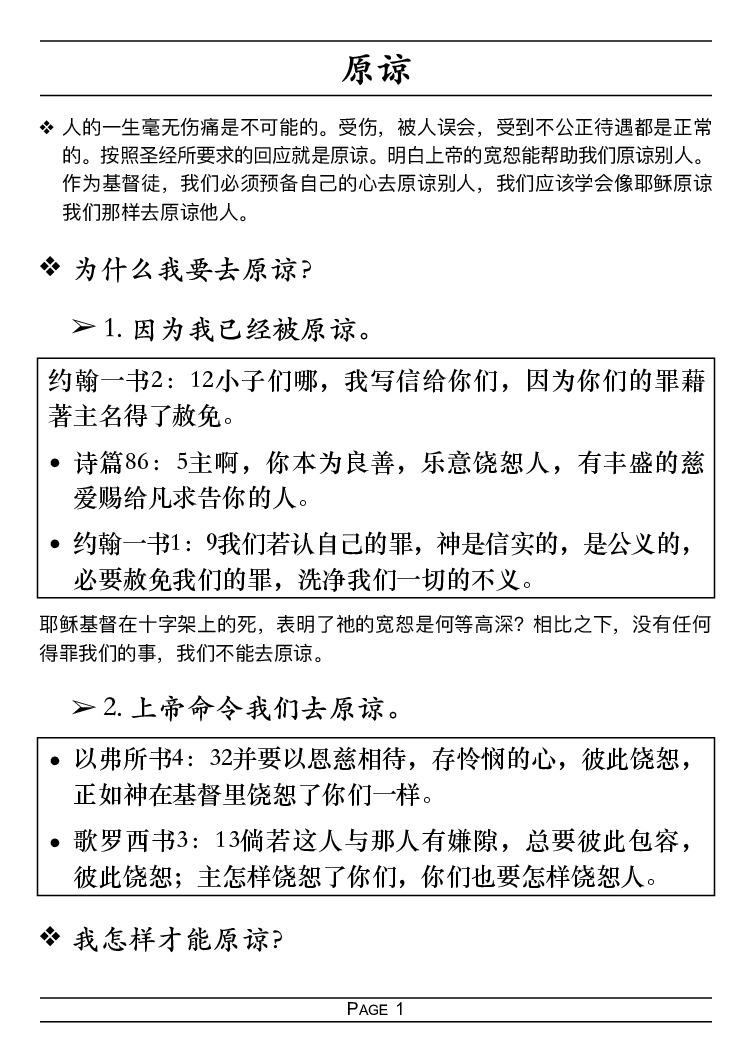 thumbnail of 205 原谅 Forgiveness