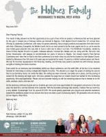 Mark and Sabrina Holmes Prayer Letter: Project Progress and Conference Success