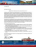 Andrew and Laura Steers Prayer Letter: Redeeming the Time