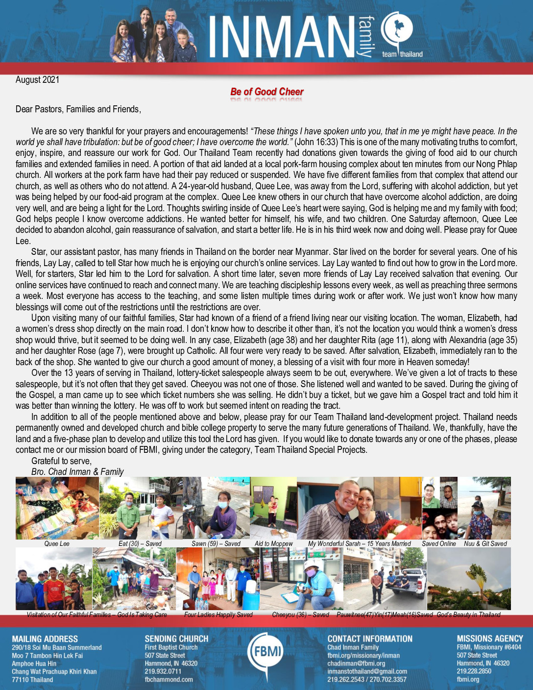 thumbnail of Chad Inman August 2021 Prayer Letter – Revision