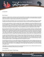 Mshama and Martha Kinyonga Prayer Letter: Our Church's Seven-Year Anniversary