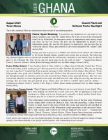 Team Ghana National Pastor Spotlight: Fruit from Information Center Preaching
