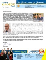 Brian and Liesl George Prayer Letter:  My Dad Is With His Saviour