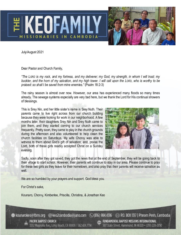thumbnail of Kounaro Keo Jul-Aug 2021 Prayer Letter