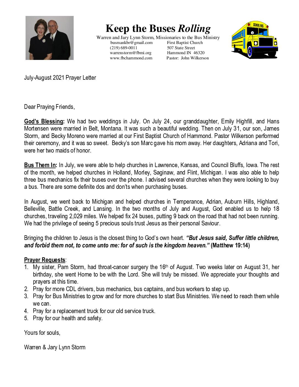 thumbnail of Warren Storm Jul-Aug 2021 Prayer Letter