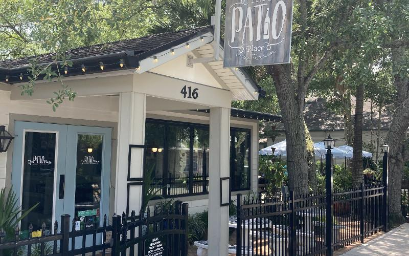 the patio place keeps a positive