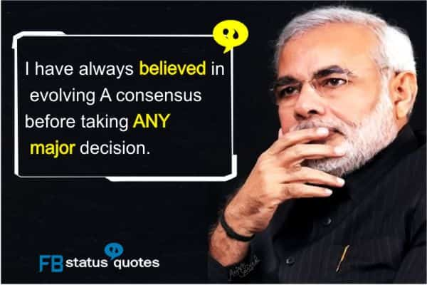 modi quotes for whatsapp
