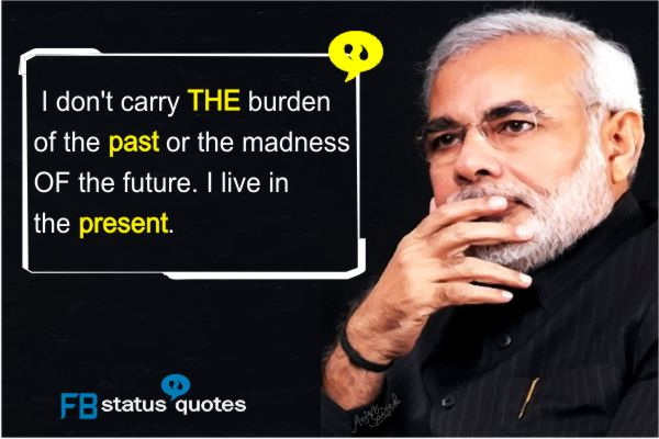 motivational Narendra Modi Quotes