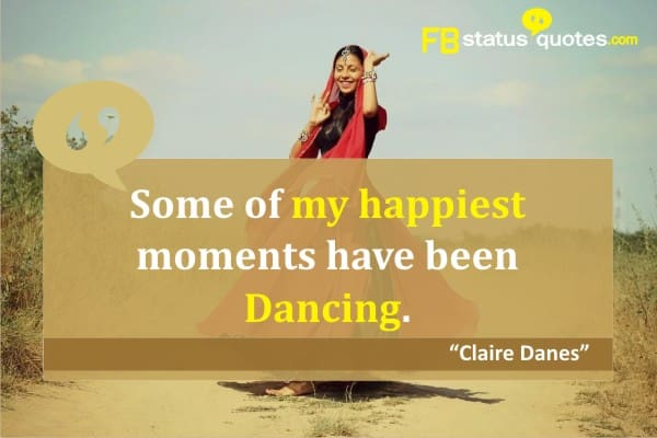Inspirational Short Dance Quotes