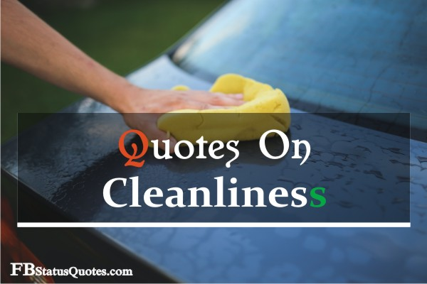 Quotes On Cleanliness
