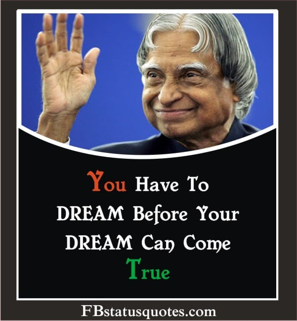 You Have To DREAM Before Your DREAM Can Come True.