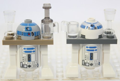 Sail Barge - R2-D2 Comparison
