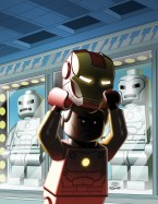 Avengers AI #4 - LEGO Variant
