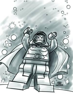 Fantastic Four #13 - LEGO Sketch Variant
