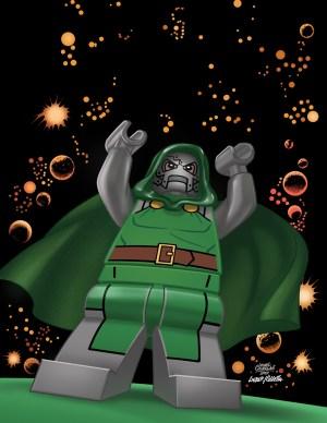 Fantastic Four #13 - LEGO Variant