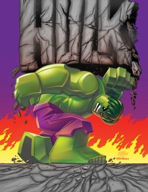 Indestructible Hulk #14 - LEGO Variant