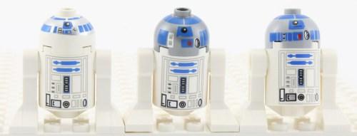 R2-D2 - Comparison