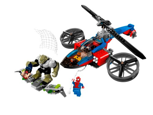 76016 Spider-Helicopter Rescue 2
