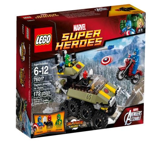 76017 Captain America Vs. Hydra 1