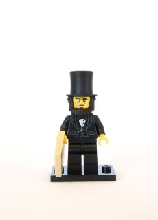 The LEGO Movie Minifigures - Abraham Lincoln 1