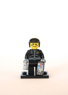 The LEGO Movie Minifigures - Scribble-Face Bad Cop 2