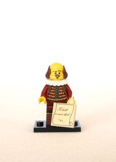 The LEGO Movie Minifigures - Shakespeare 1