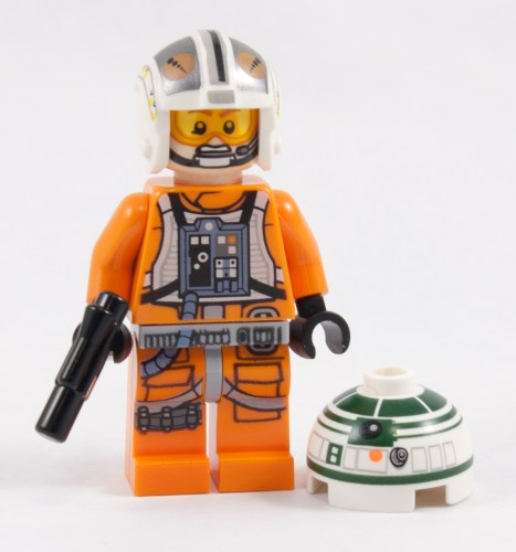 75032 - Pilot and Droid Head