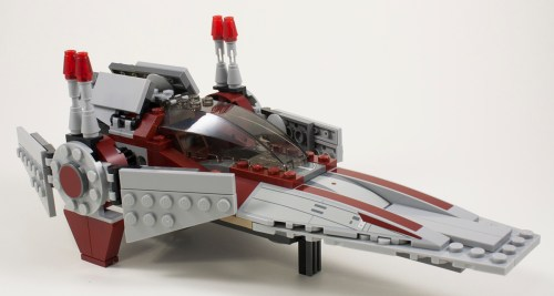75039 V-Wing Landing Position