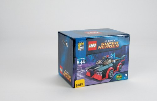 LEGO DC SDCC Exclusive Package