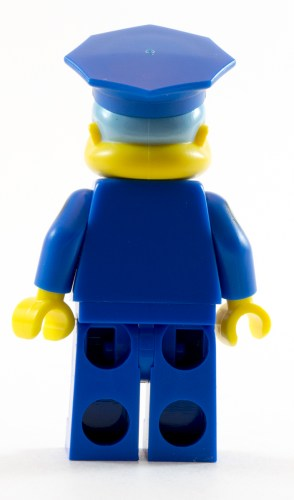 71016 Police Chief Wiggum Back