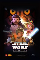 LEGO Star Was Movie Poster - Episode 1