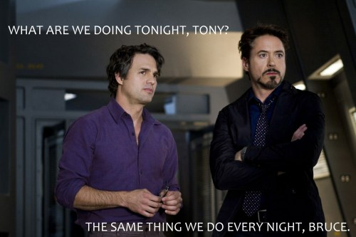 Mark-Ruffalo-stars-as-Bruce-Banner-and-Robert-Downey-Jr.-stars-as-Tony-Stark-in-The-Avengers-2012