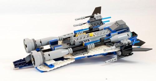 75087 Custom Jedi Starfighter Underside