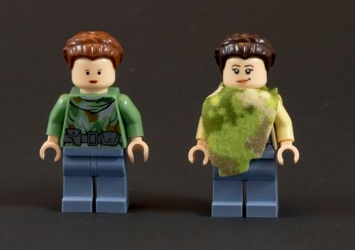75094 Endor Leia Comparison