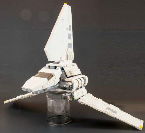 75094 Imperial Shuttle Wings Down
