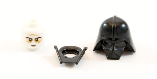 75903 Darth Vader Helmet Parts