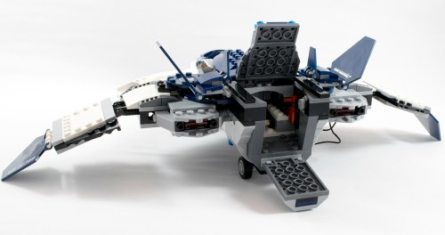 76032 Quinjet Back Opened