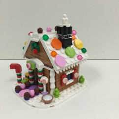 40139 Gingerbread House - 3