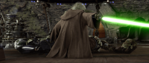 Yoda proves again, you do not mess with the Muppet