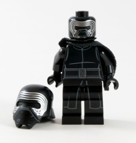 75104 Kylo Ren Helmet Off