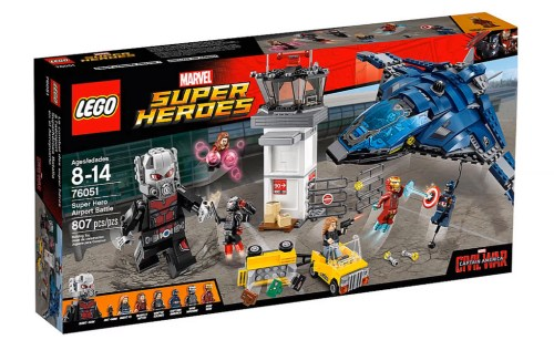 76051 Super Hero Airport Battle - 1