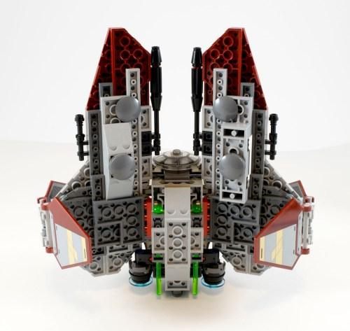 75135 Jedi Interceptor Underside
