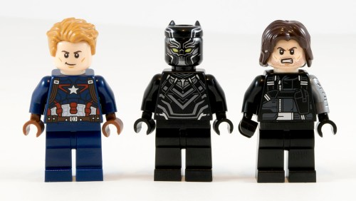 76047 Black Panther Pursuit Minifigs