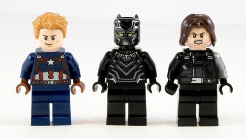 76047 Black Panther Pursuit Minifigs